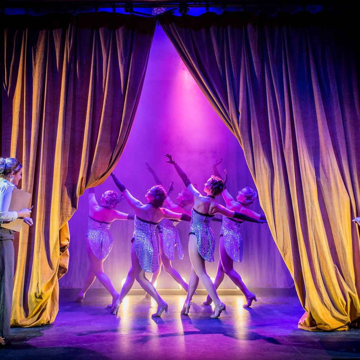 Opening Scene of 'Crazy For You', featuring the ensemble