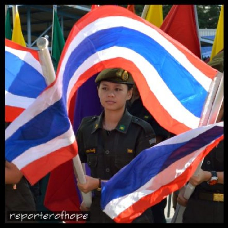 Thai flags - guys