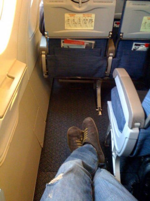 airplane legroom