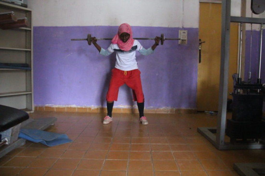 Djiboutian Women at the Gym2