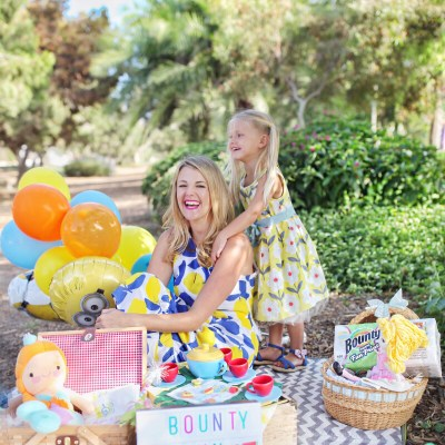 Minion-Themed Dollie & Me Picnic Tea Party