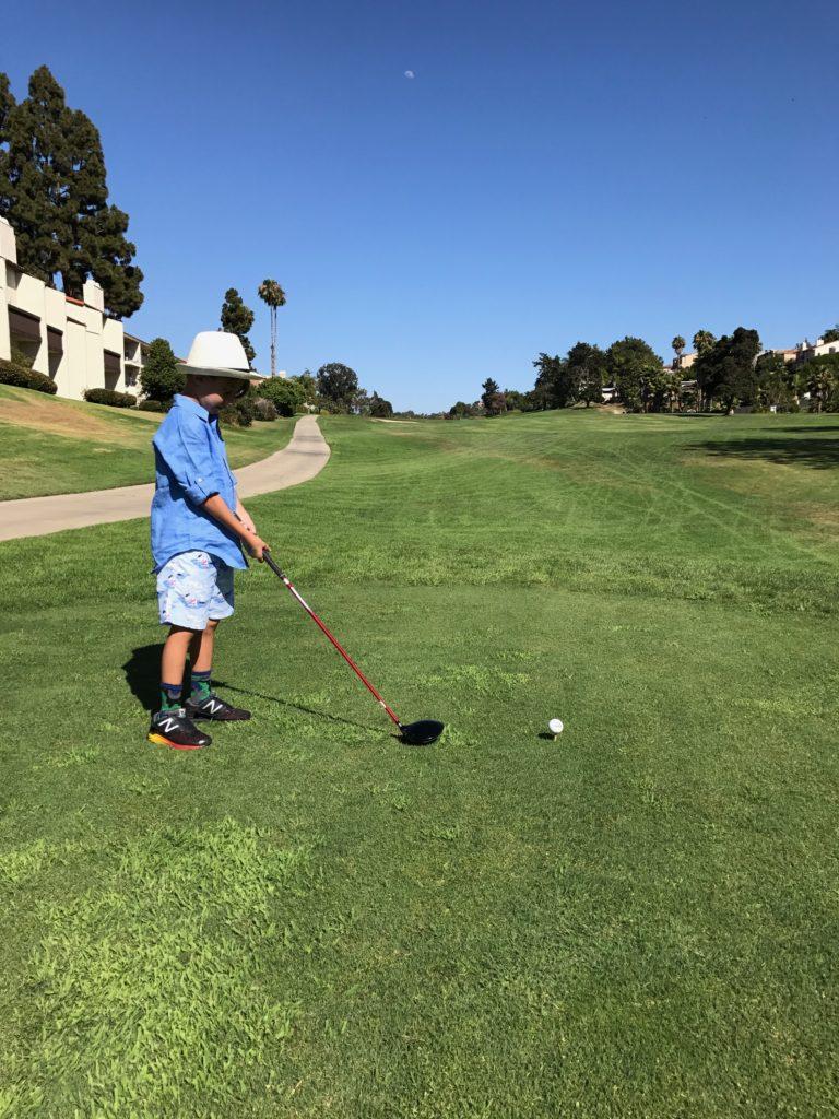 Kids Golf Free at Omni La Costa