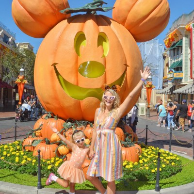 Oh My Gourd!  It's Halloween Time at Disneyland at You Can't Miss It!