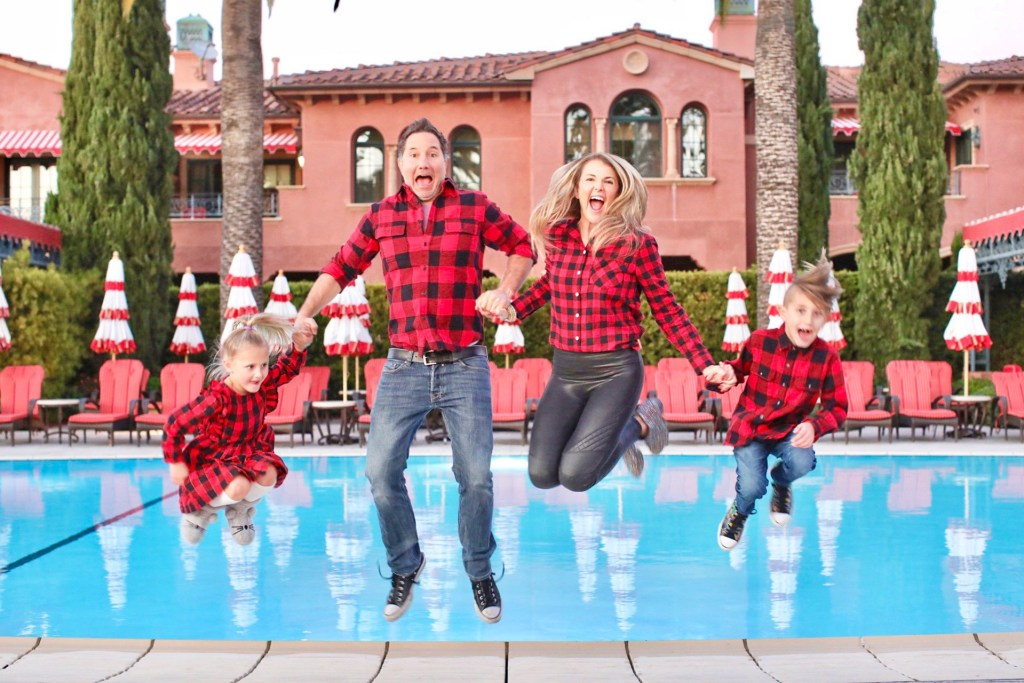 A Christmas Family Photshoot: Escape to the Glamorous and Elegant Fairmont Grand Del Mar