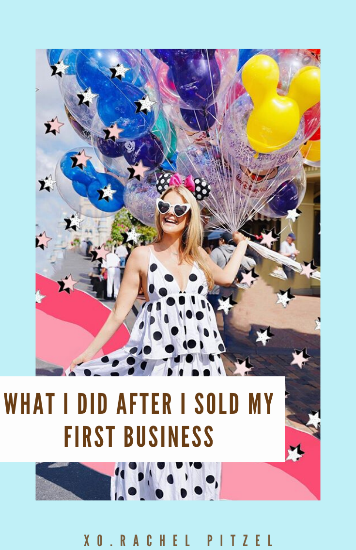 I am sharing what I did after I sold my first business