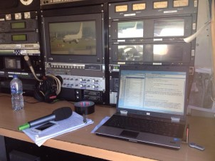 Remote location filing from the ABC links truck