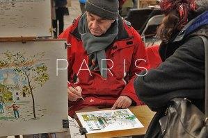 Paris: The artists
