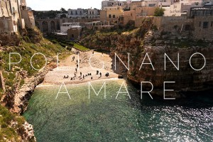 Polignano a Mare: Into the blue