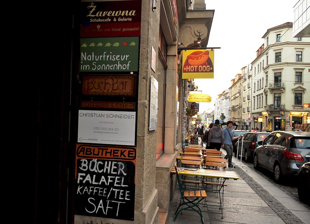 Bar Wohnzimmer Dresden Neustadt