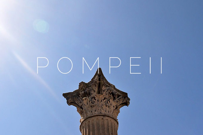 Pompeii: Around town #1