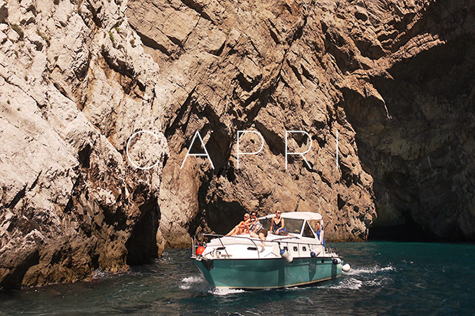 Capri: Into the blue