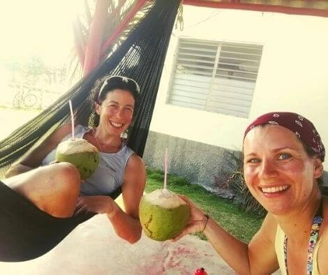 Hammock coconut day in Guasasa