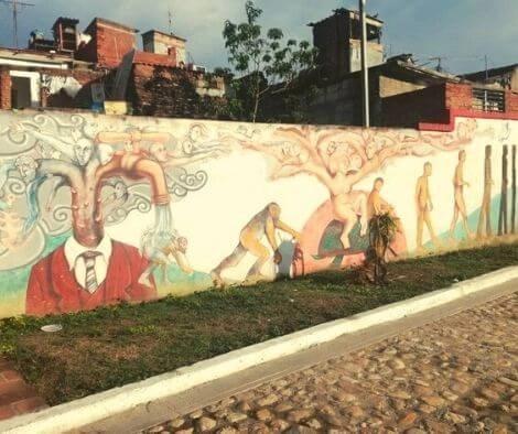 Graffiti in Sankti Spiritus