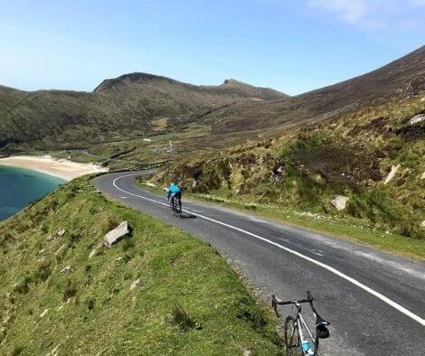 Cycling on Achill Island