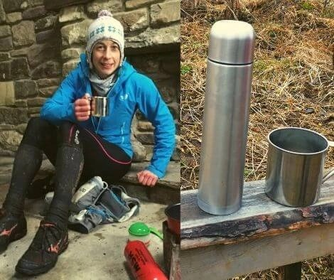 Adventure Racing Food Tip Thermos flask