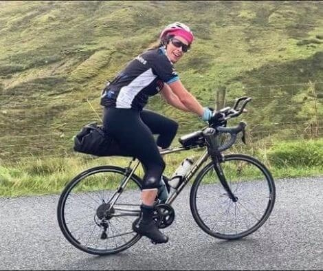 Rachel Nolan first female to win the TransAtlanticWay on her titanium bike