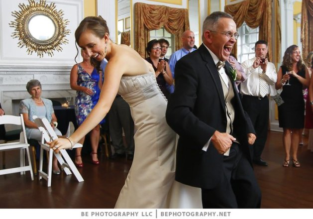 My dad and I dancing at my wedding!