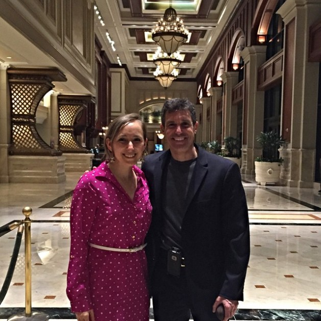 Dr. David Katz and me after dinner in San Diego!