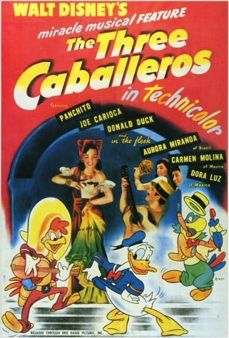 TheThreeCaballeros1944FrontCover