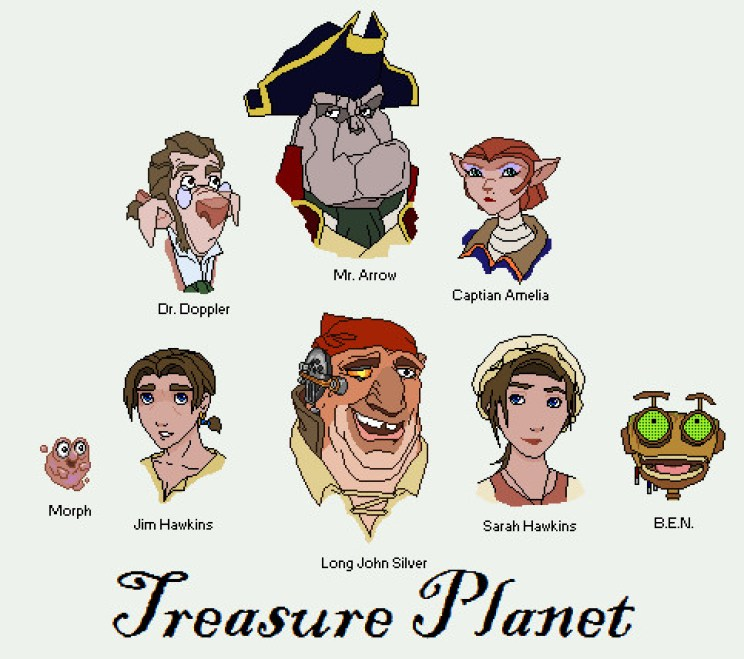 treasure_planet_characters_by_SilversGalley
