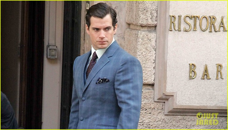guy ritchie set in rome with henry cavill
