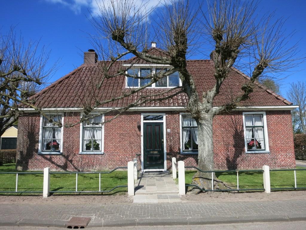 a house in Lutjegast, Groningen province