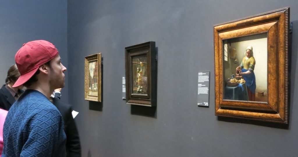 The Milkmaid, by Vermeer