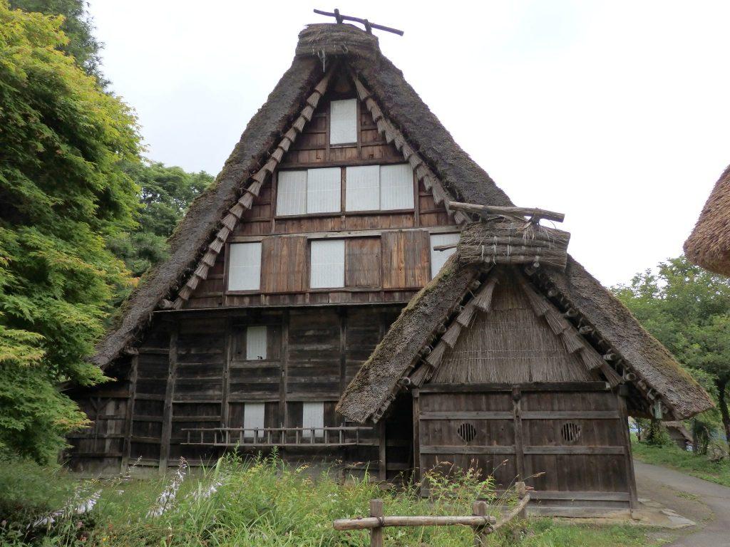 From the western part of the Hida region, this house was built in 1797.