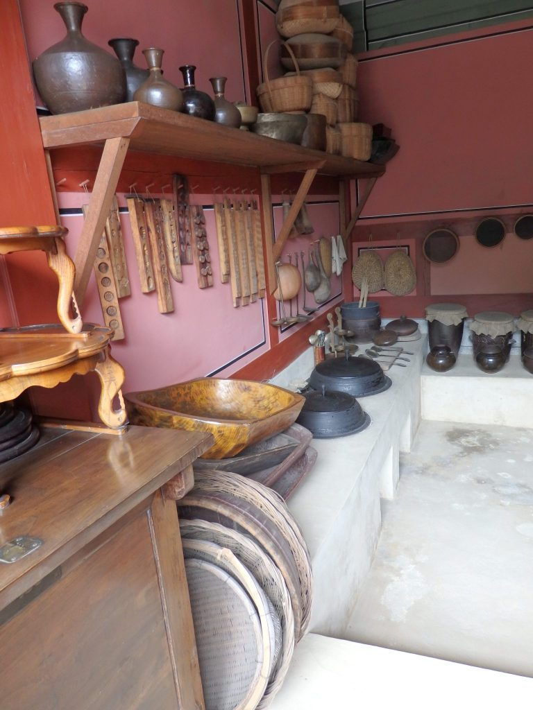 One of the kitchens in the Hwaseong Haenggung Palace in Suwon, South Korea