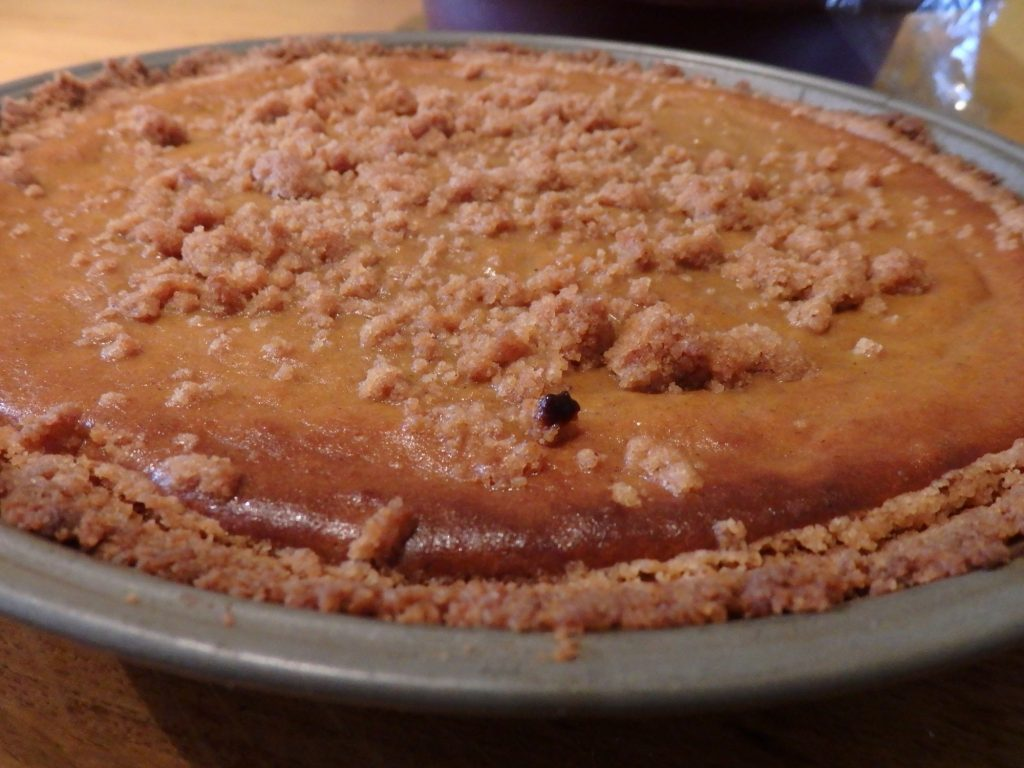 Sweet potato pie is a must every Thanksgiving.