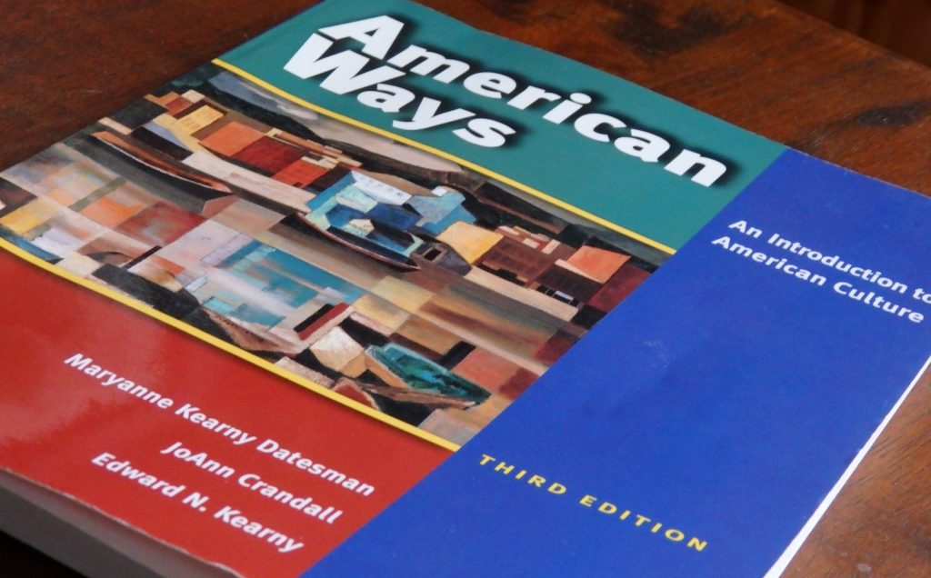 "The textbook called ""American Ways"""
