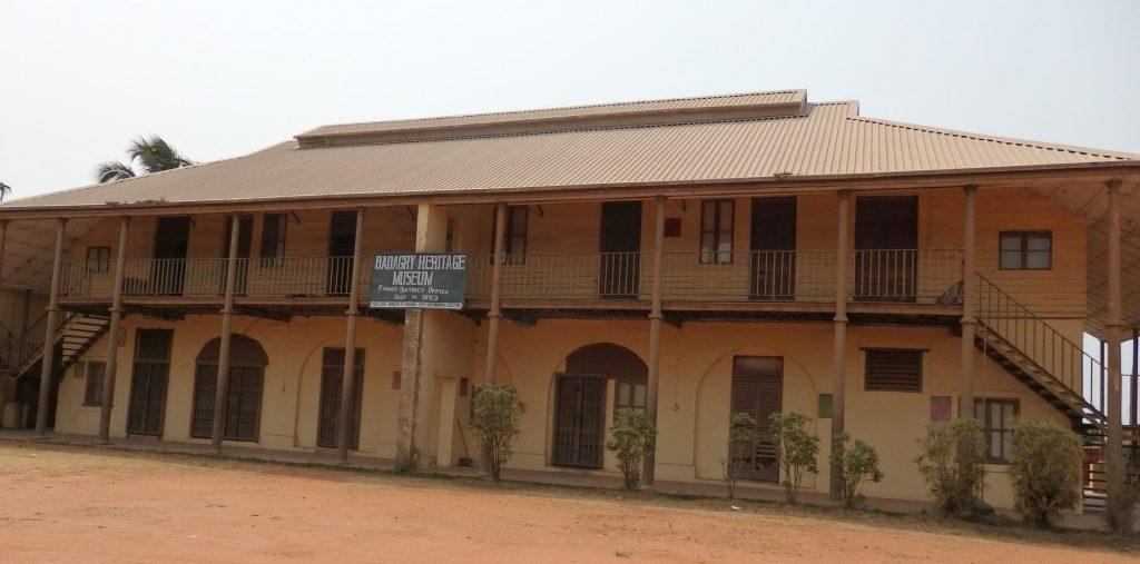 the Badagry Heritage Museum, Lagos, Nigeria