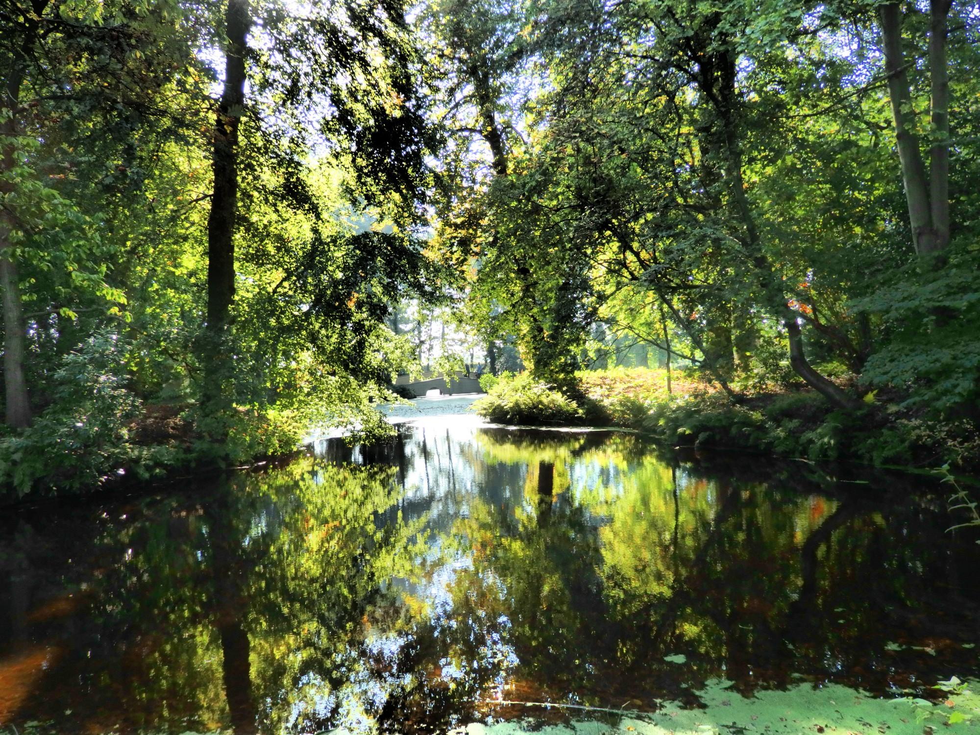 in the garden of Fraeylemaborg, in Slochteren, the Netherlands