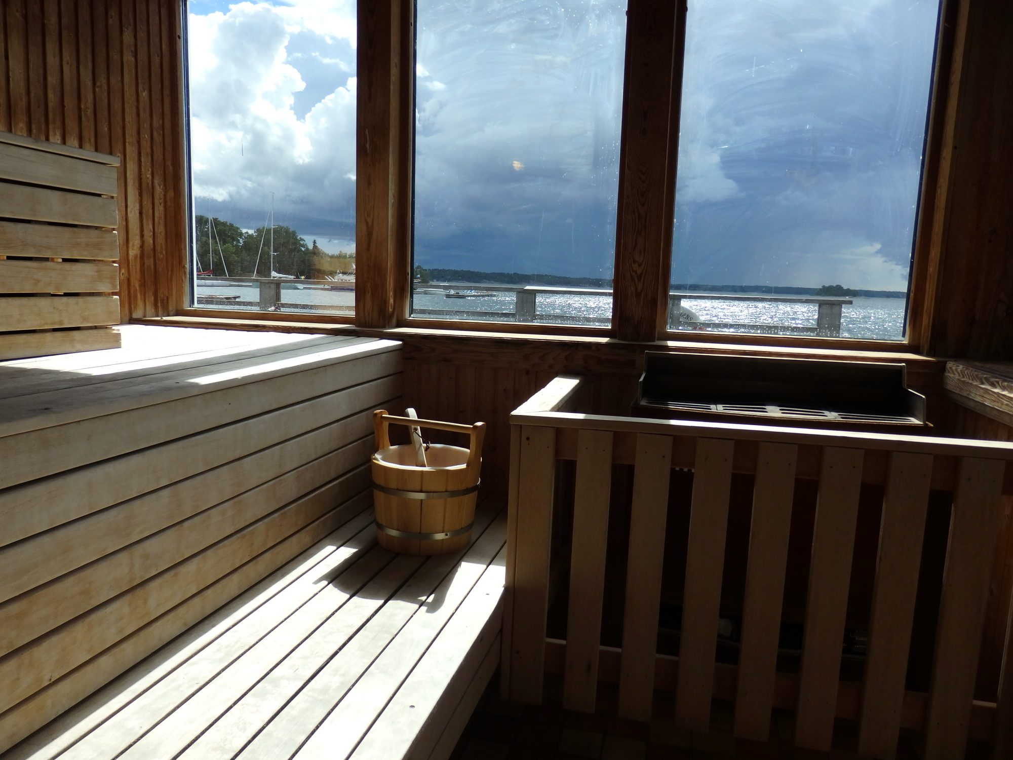 sauna with a view on Nasslingen Island, Sweden