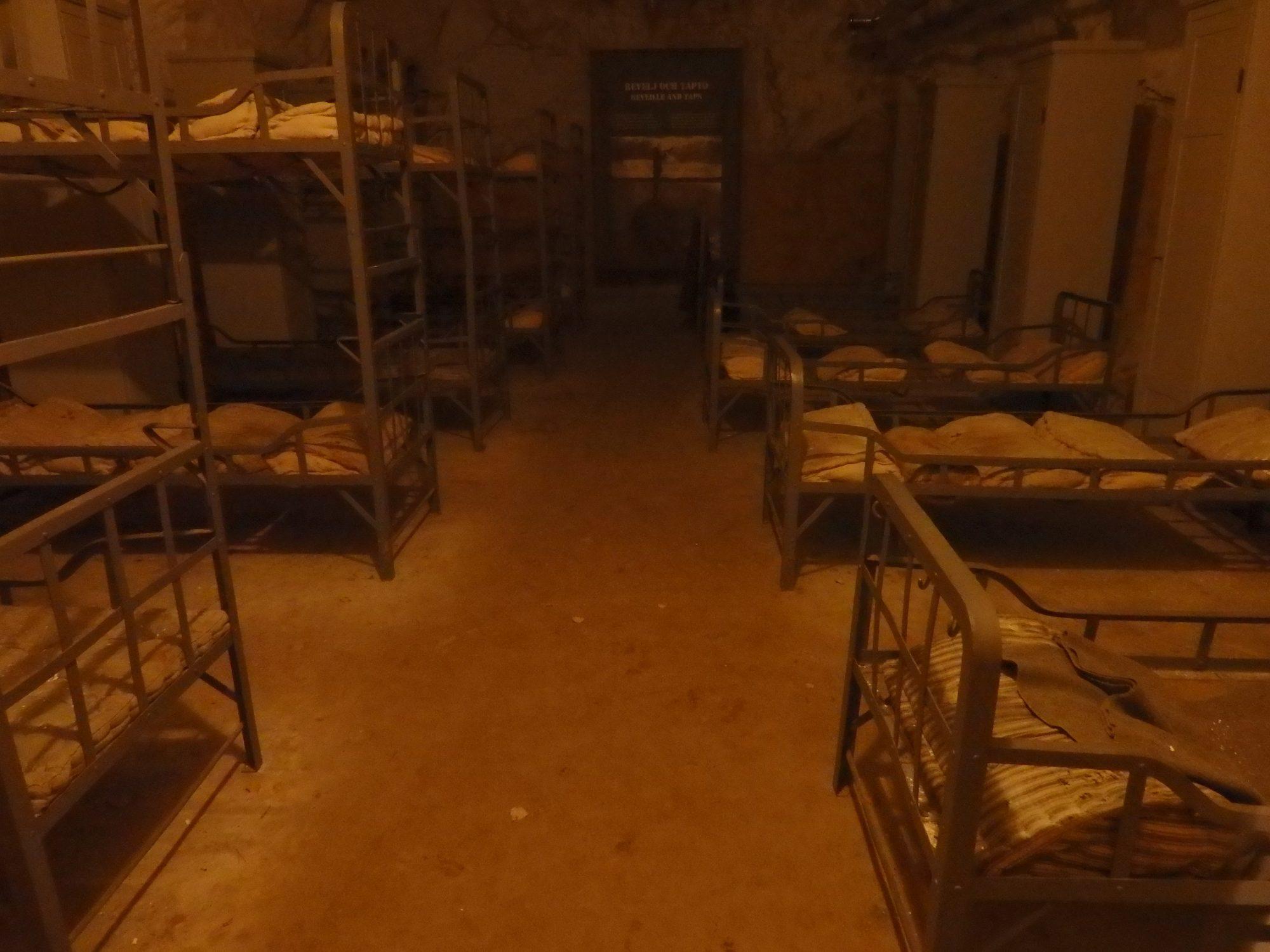 bunks at Siarofortet, Stockholm archipelago, Sweden