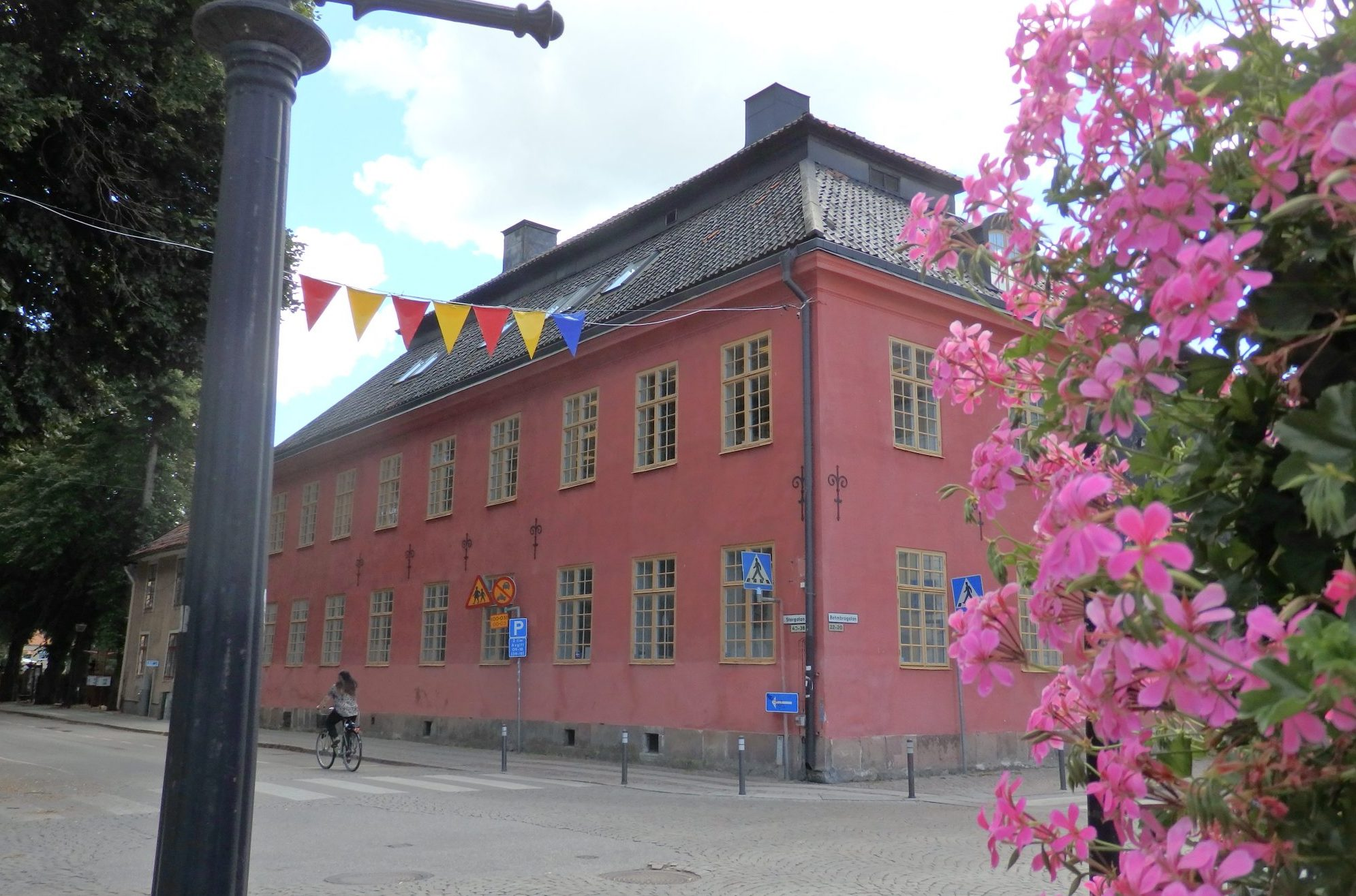 in the center of Nyköping