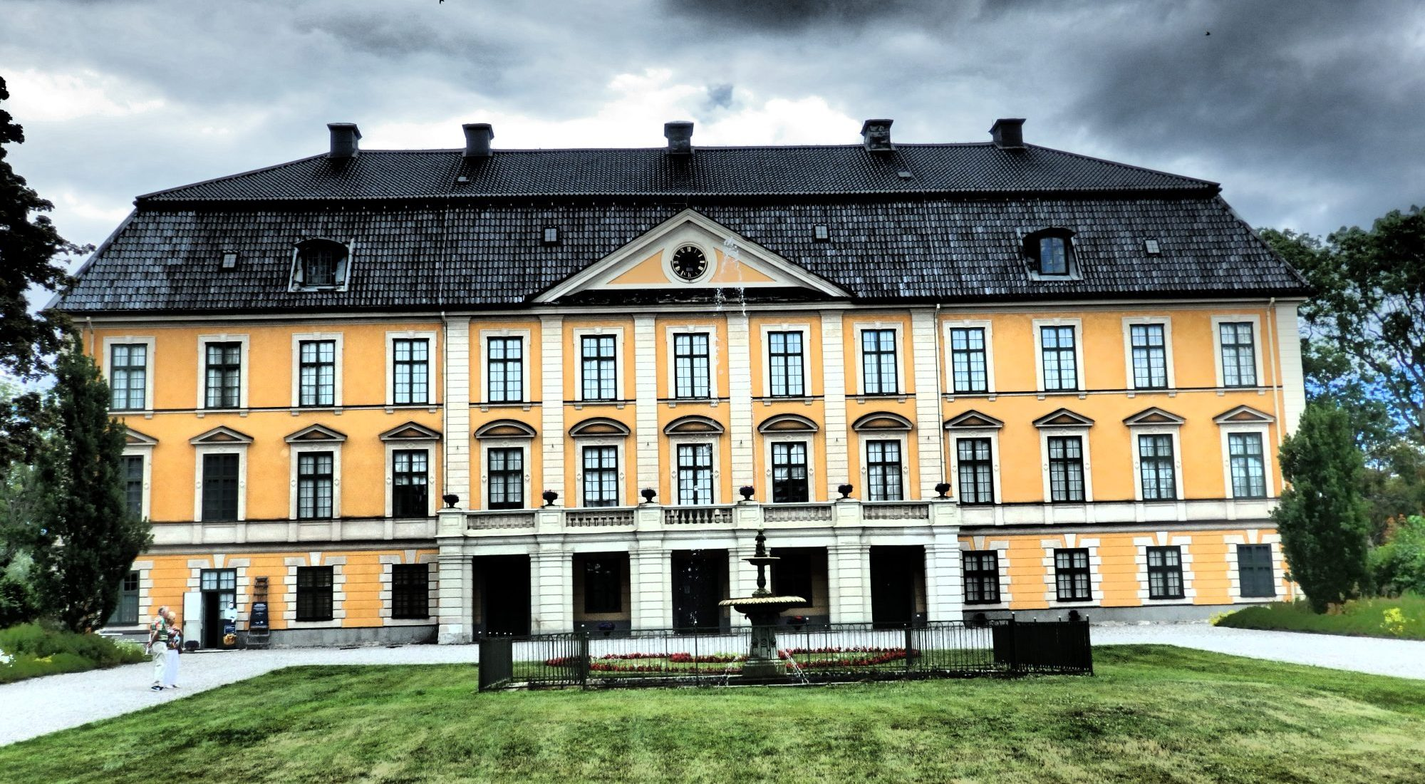 the manor house at Nynäs