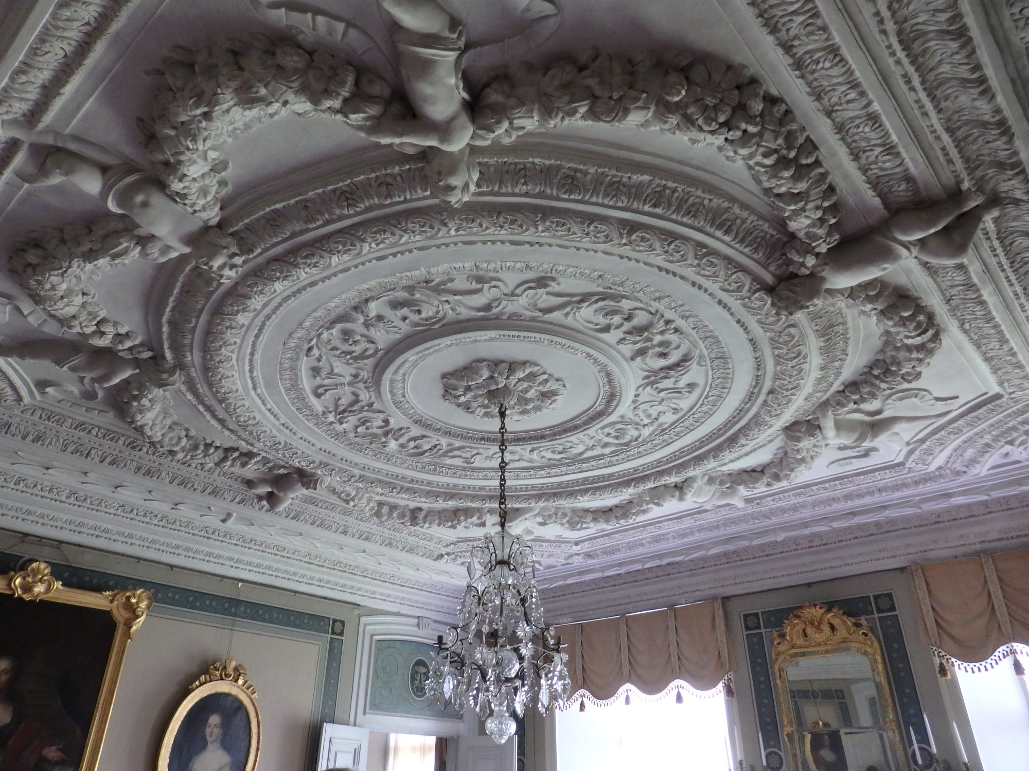 A ceiling in Nynäs manor house