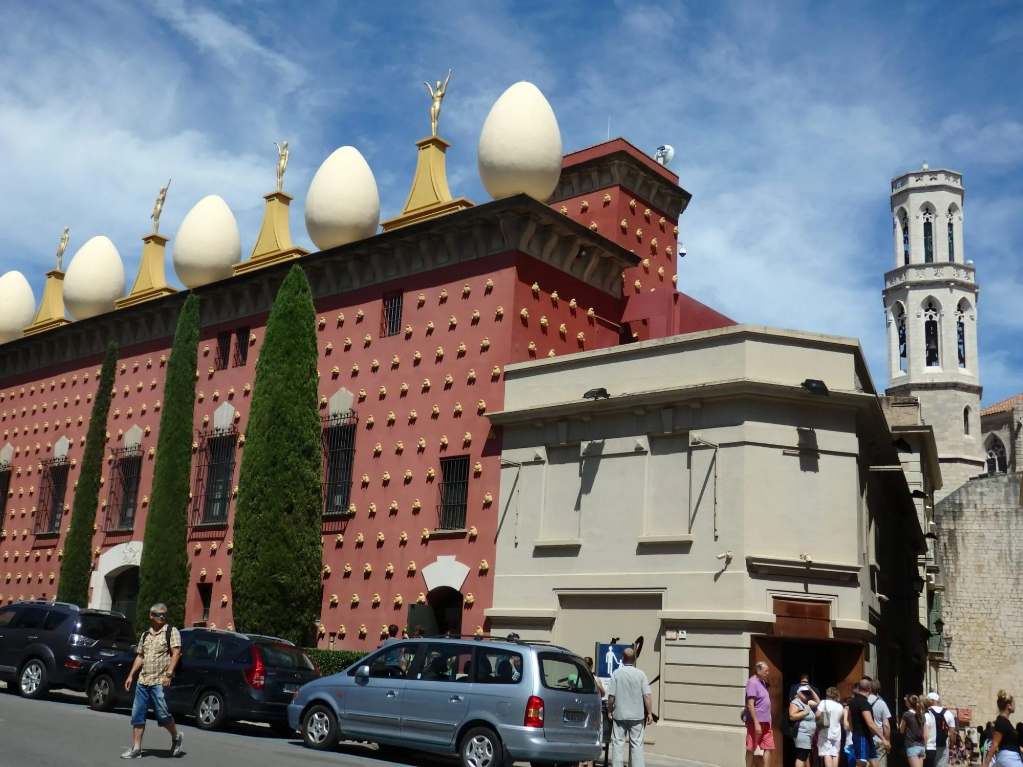 the Dali Theatre-Museum in Figueres, Spain