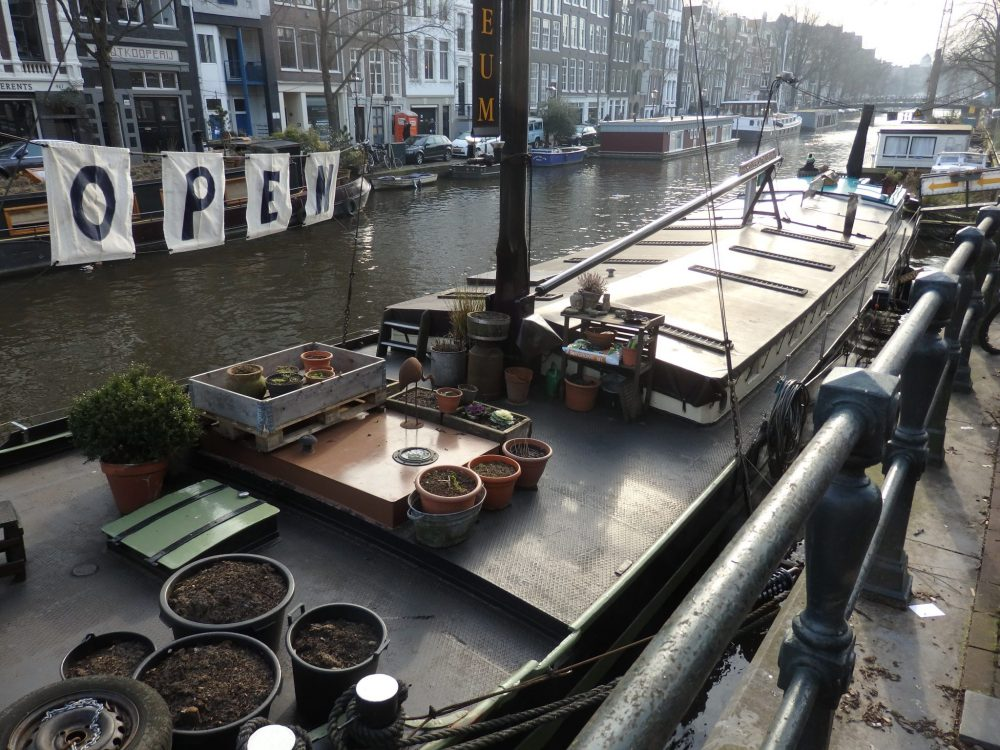The Houseboat Museum in Amsterdam