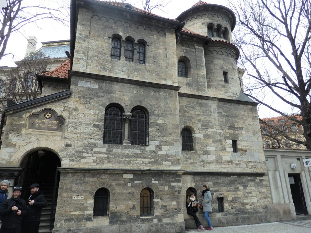The Ceremonial Hall is right next to the Old Jewish Cemetery and on the Jewish Museum's route of the synagogues in Prague.