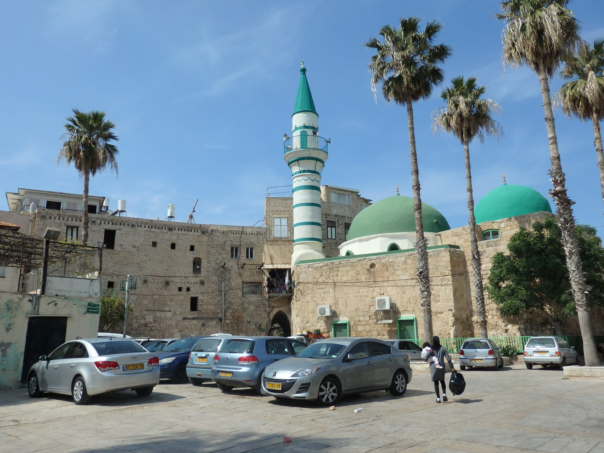 a small neighborhood mosque in Akko old city