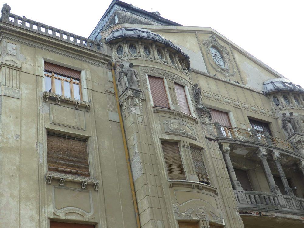 facade detail. Timisoara photo essay