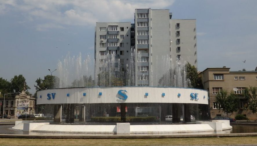 fountain in Timisoara, Romania. Timisoara photo essay.
