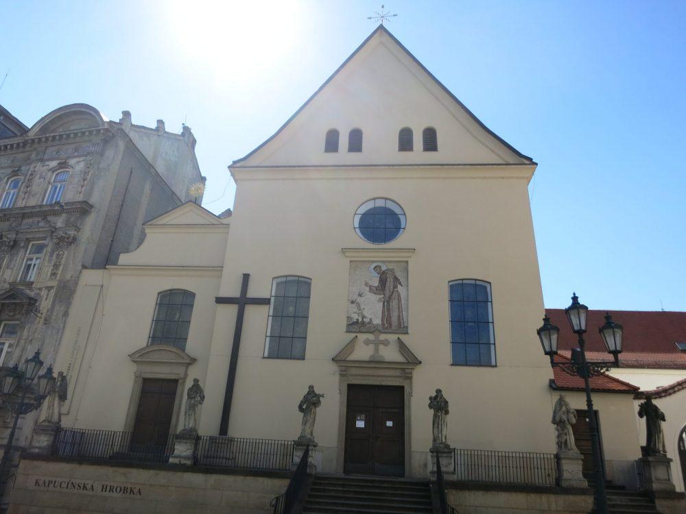 The Capuchin Church in Brno: Macabre sightseeing in Brno