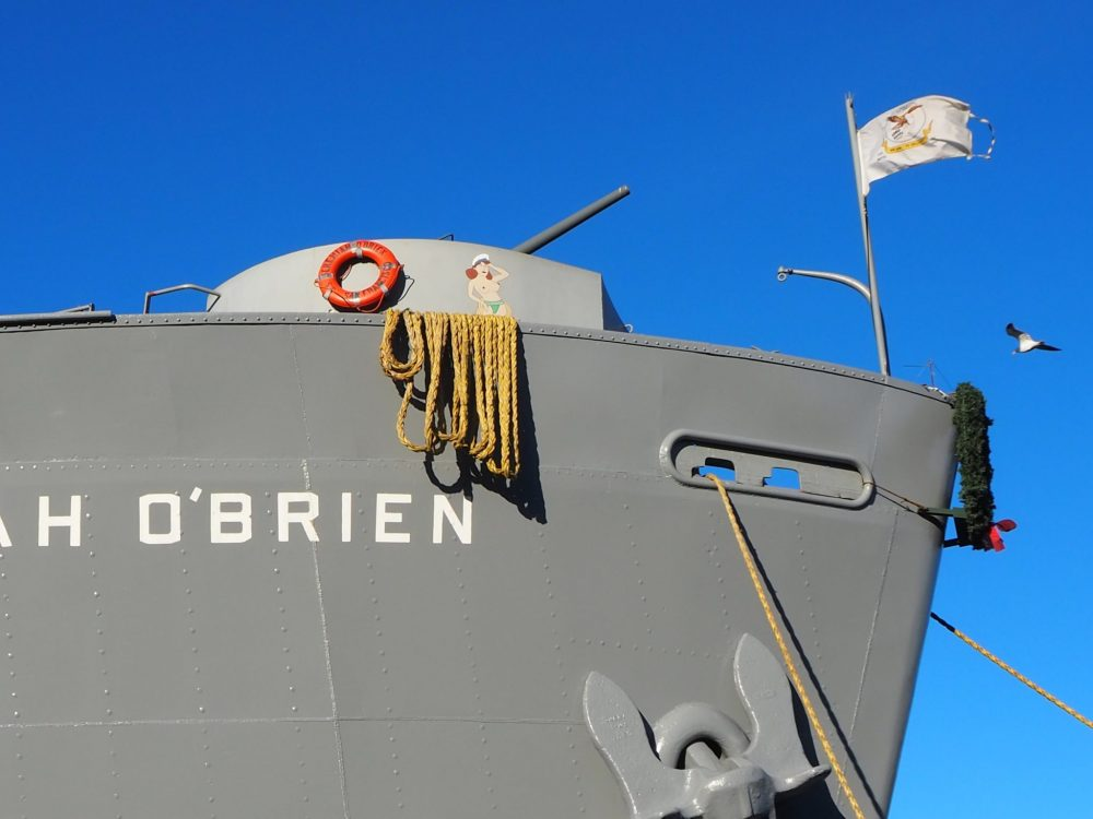 The bow of the Jeremiah O'Brien