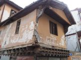 An old house, in need of repair, inside the Ankara castle walls.