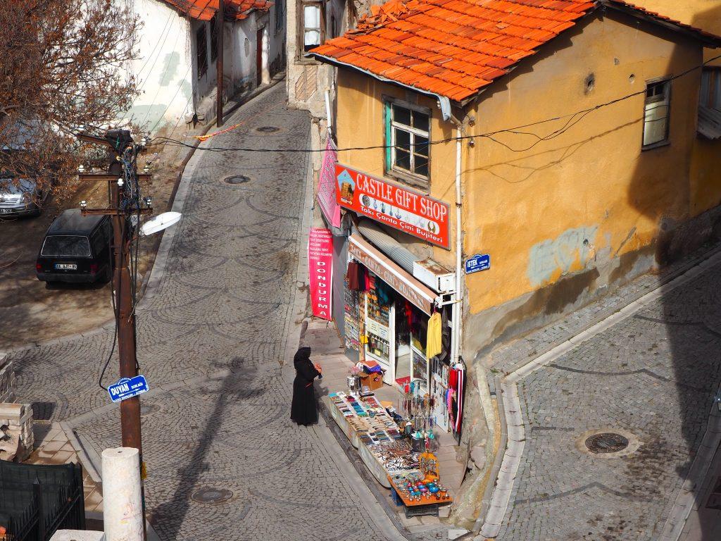gift shop below Ankara Castle