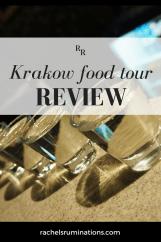 pinnable image: Krakow food tour