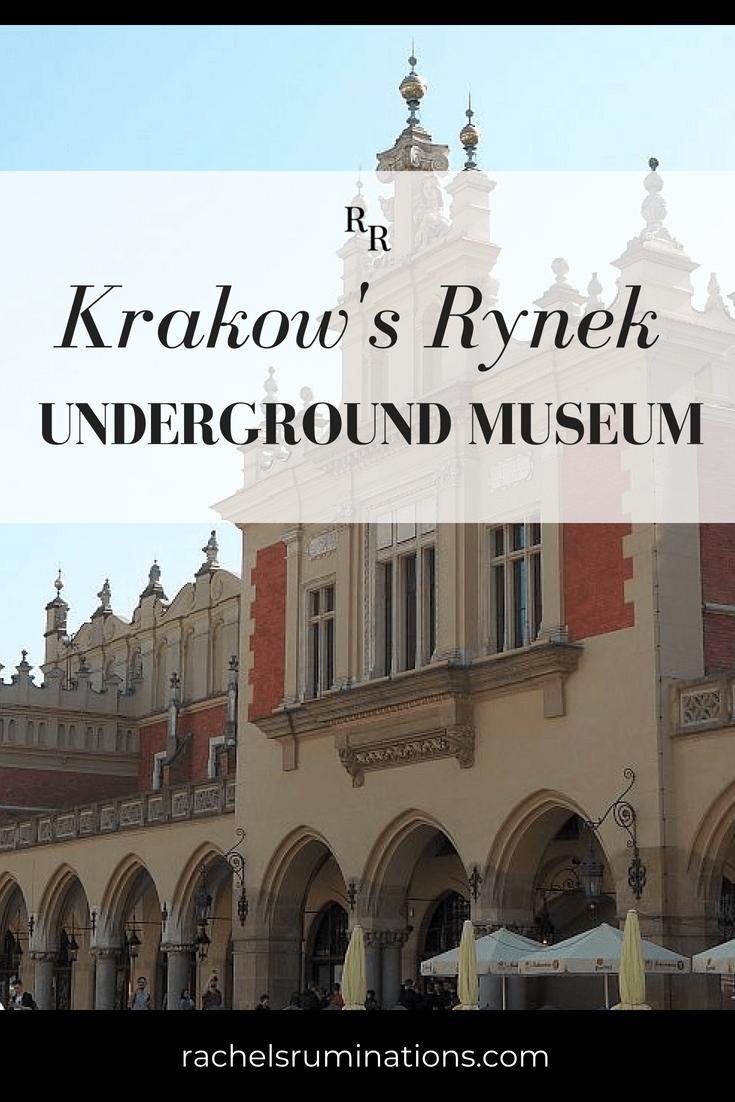 Pinnable image from Rynek Underground Museum